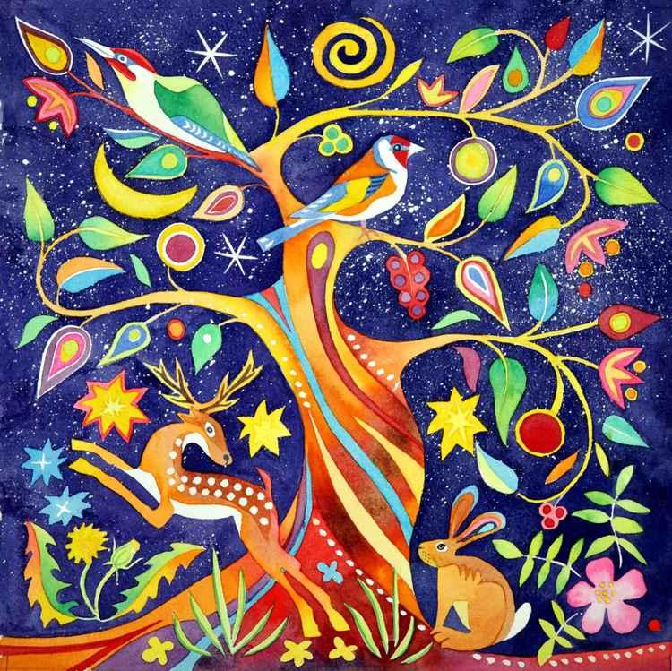 Folk tree -