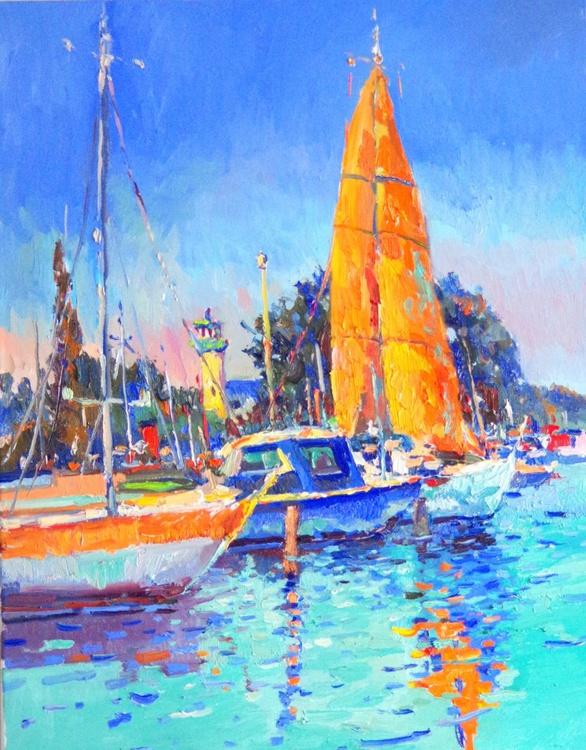 Orange Sail (Noon) - Image 0