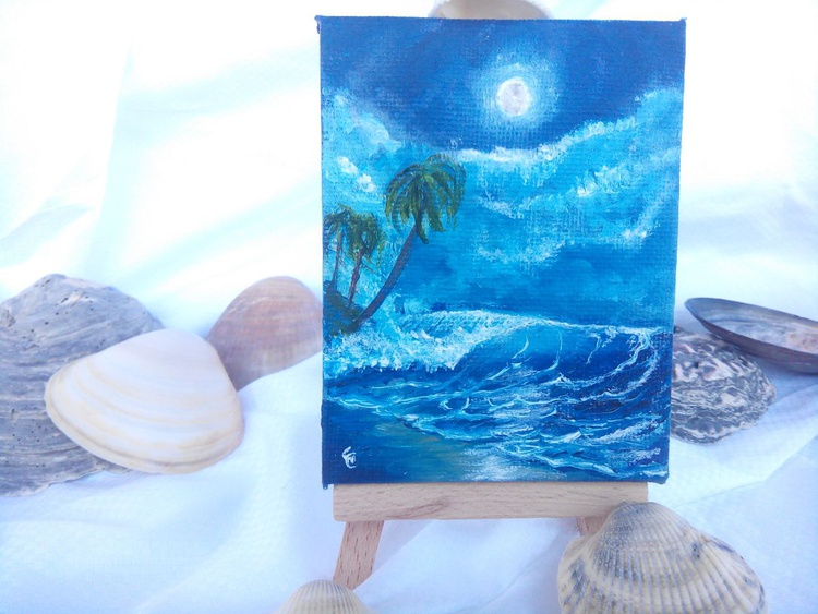 Miniature #009 - Easel included - Image 0