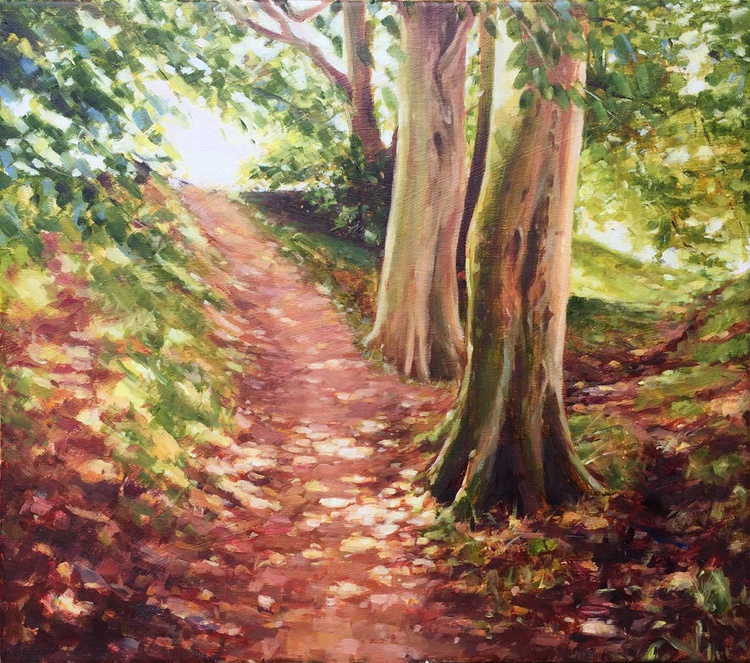 Summer Light In The Woods - Image 0