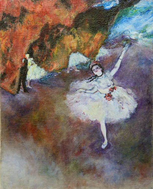 Degas' Prima Ballet Dancer. - Image 0