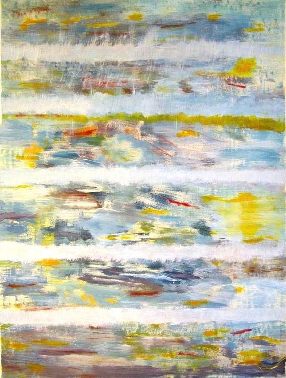 Gray Season - 83 x 110 cm - Image 0