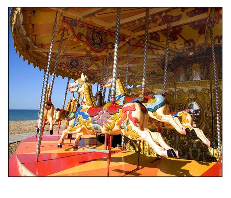 Brighton Beach Carousel, Sussex, UK - Image 0
