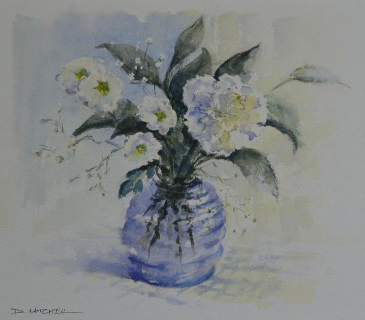 Blue Vase - Image 0