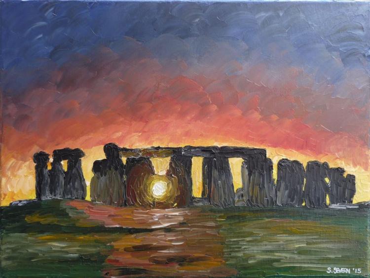 Stonehenge Sunset on the Winter Solstice - Image 0