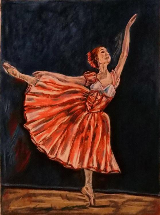 Pink ballerina - Image 0