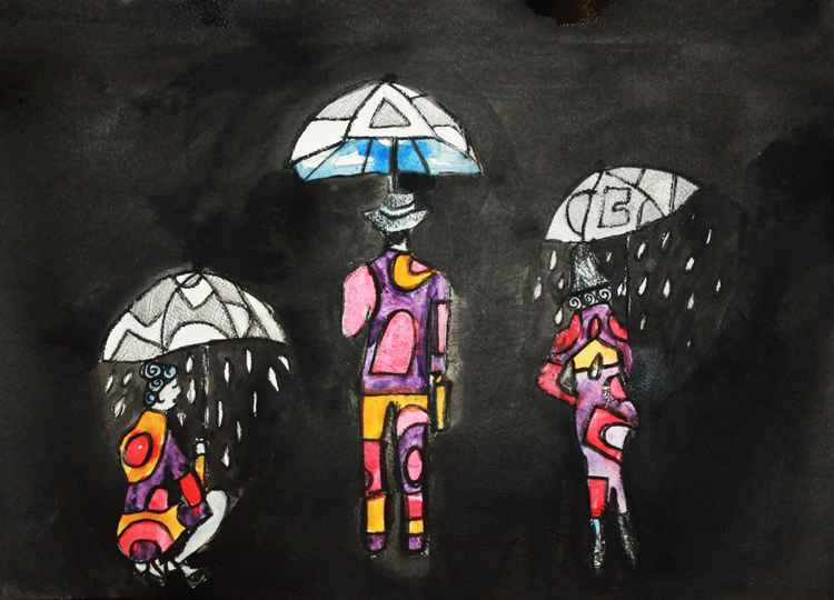 Different Umbrellas
