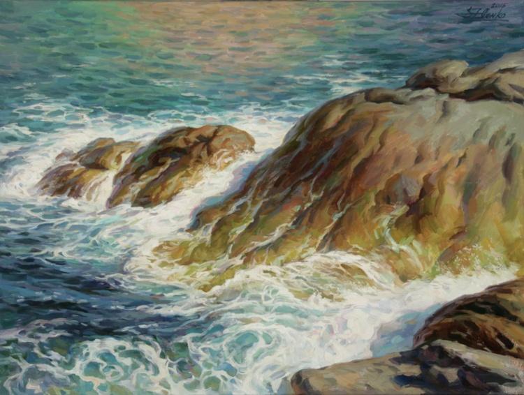 Sea Symphony. Part 2, 60x80cm, 2015 - Image 0