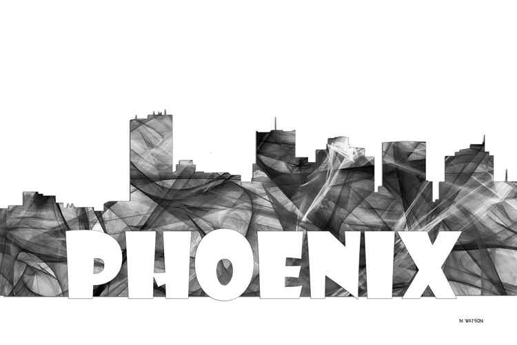 Phoenix Arizona Skyline BG2 -