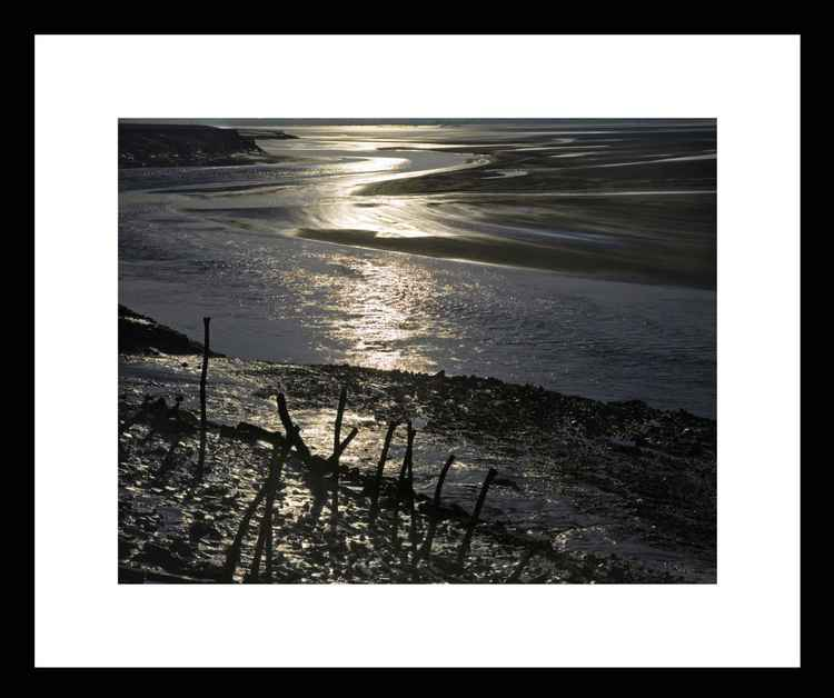 Natural Abstracts - Severn Estuary Sunrise - Mini -