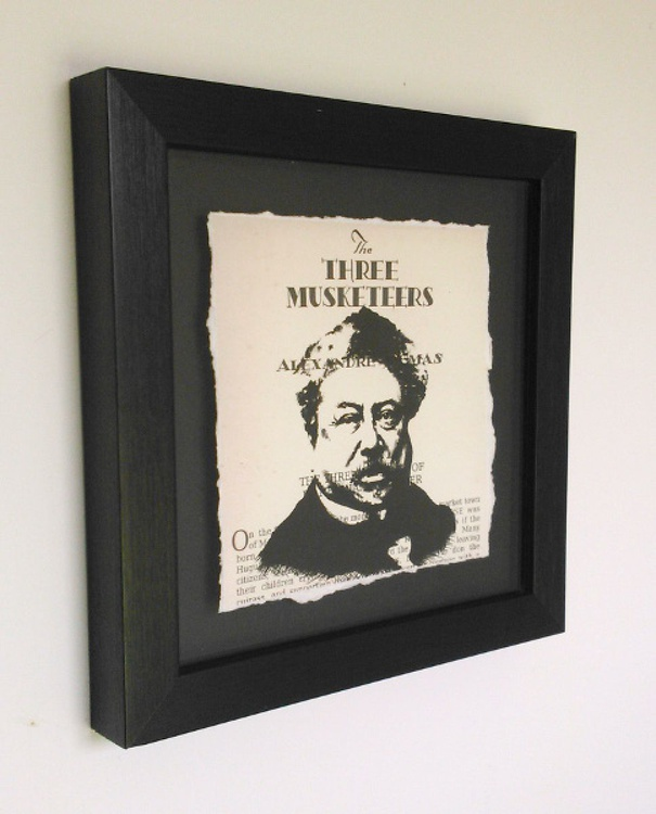 Dumas - The Three Musketeers (Framed) - Image 0