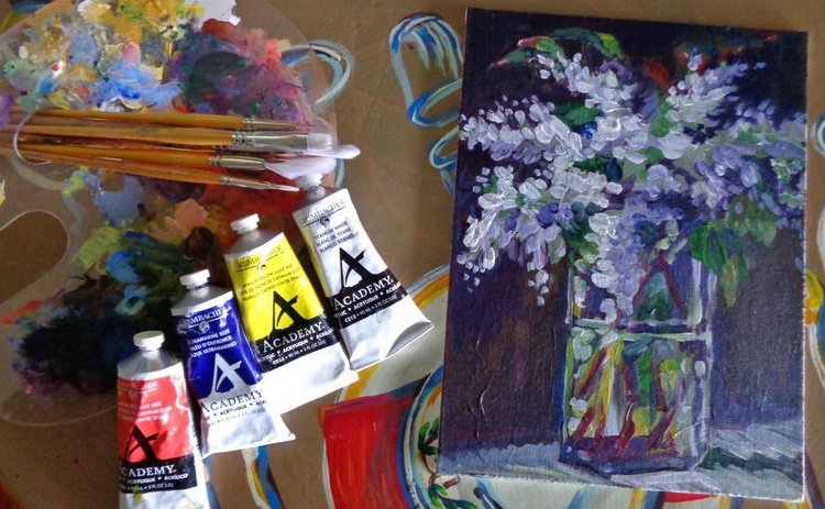 Lilacs in Crystal - Image 0
