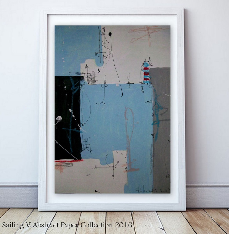 Sailing V, Abstract paper collection - Image 0