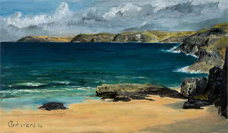 Mother Ivey's Bay, North Cornwall. -