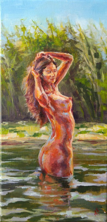 Bathing woman - Image 0