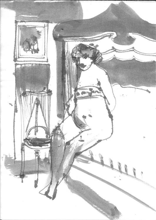 Boudoir, 14x20 cm - Image 0