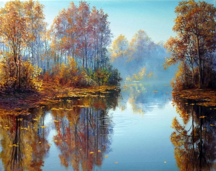 Sunny Autumn Day on the River 2 - Image 0
