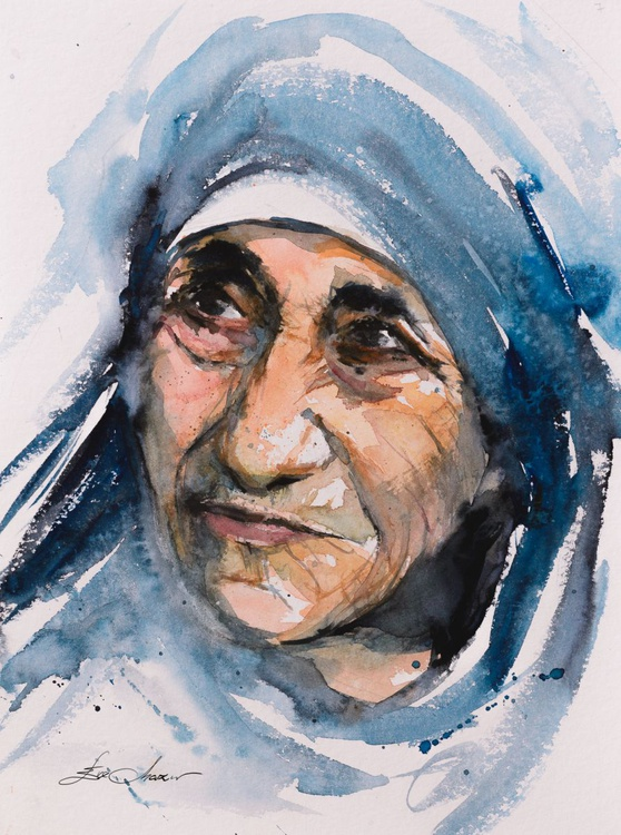 Mother Teresa portrait - Image 0