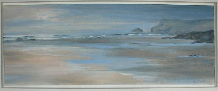 Fading light over the beach. Pentire, Polzeath - Image 0
