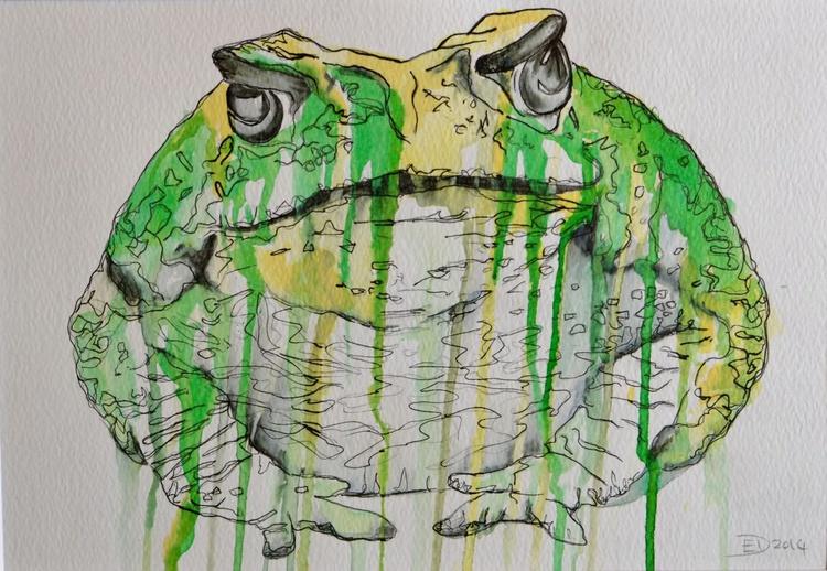 Grumpy Toad - Image 0
