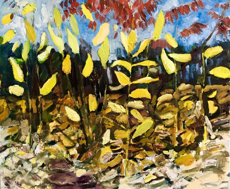 Milkweed and Sumac, Late Fall - Image 0