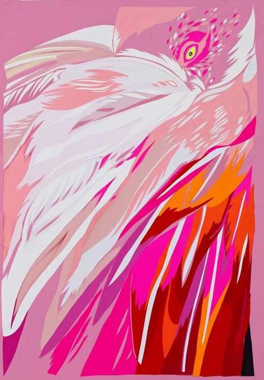 Amaranth flamingos - Image 0