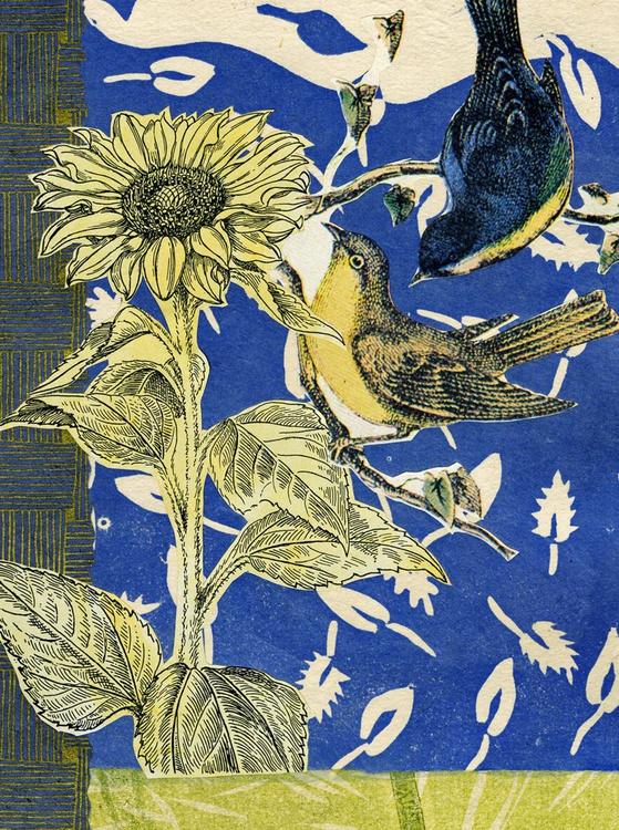 Songbirds in the Garden #10 - Image 0