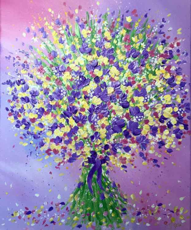 Bouquet of Lilac Blooms -