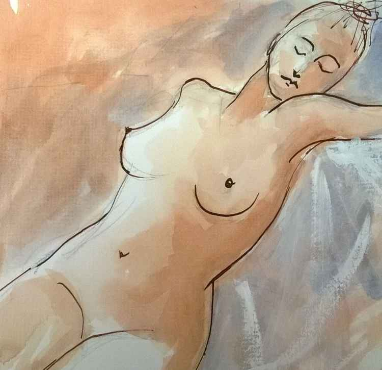 Nude with Closed Eyes