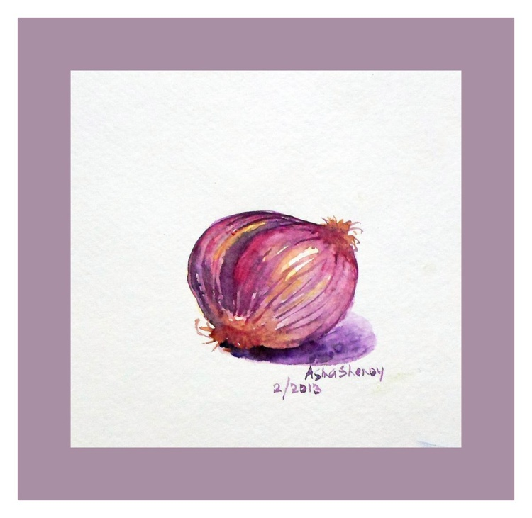 "Onion -Miniature 5""x 5"" - Image 0"