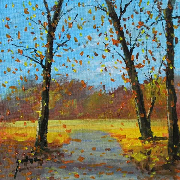 Autumn landscape -