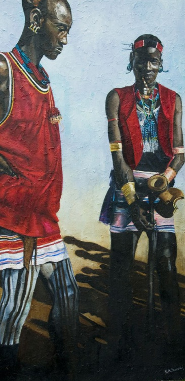 Hamer Warriors, Southern Ethiopia - Image 0
