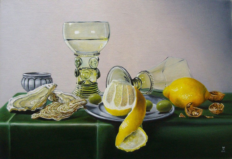 Olives and oysters / FREE Shipping - Image 0