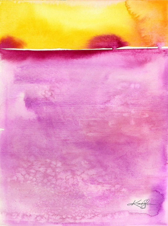 Finding Harmony - Abstract Watercolor Painting - Image 0
