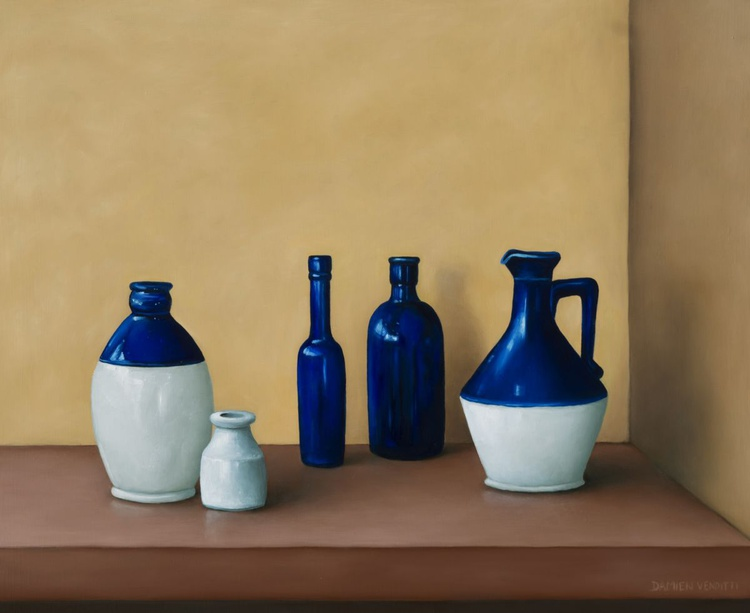 Still life - Old bottle collection - Image 0