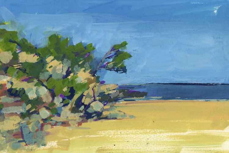 Beach in Catalonia -