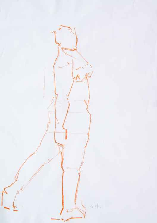 Life Drawing No 54 -