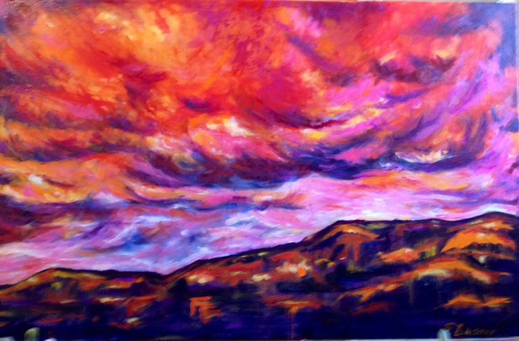 July in New Mexico-First in the Enchanted Summer Sky series - Image 0