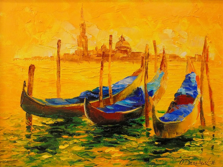 Golden evening in Venice - Image 0