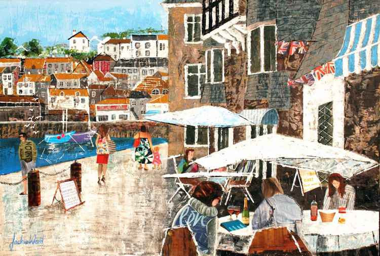 Al Fresco in St. Ives, Cornwall -