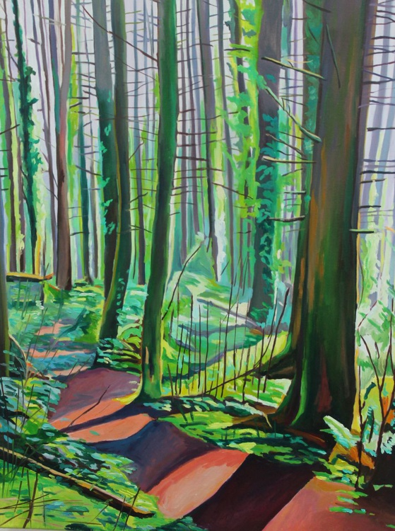 Sunlit Woods - Image 0