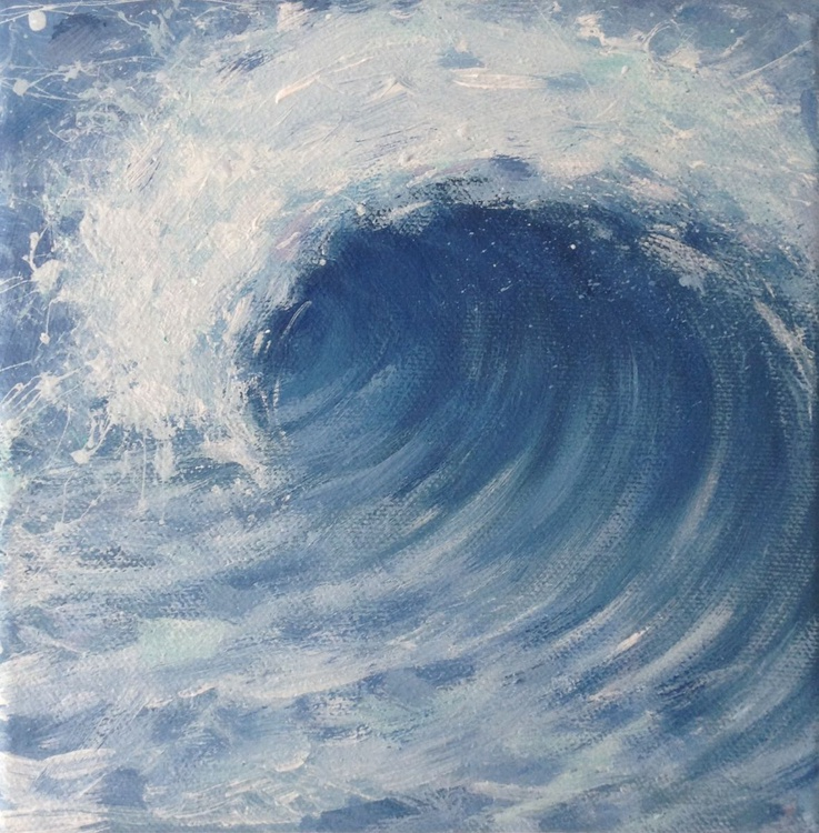 A Blue Squally Morning - Image 0