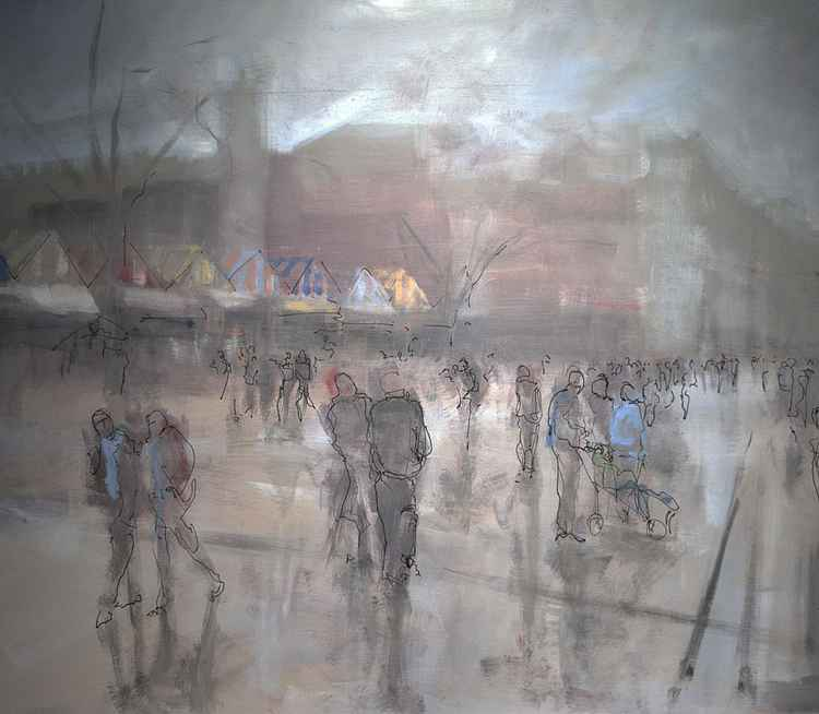 Norwich shoppers paint and ink no 1. -