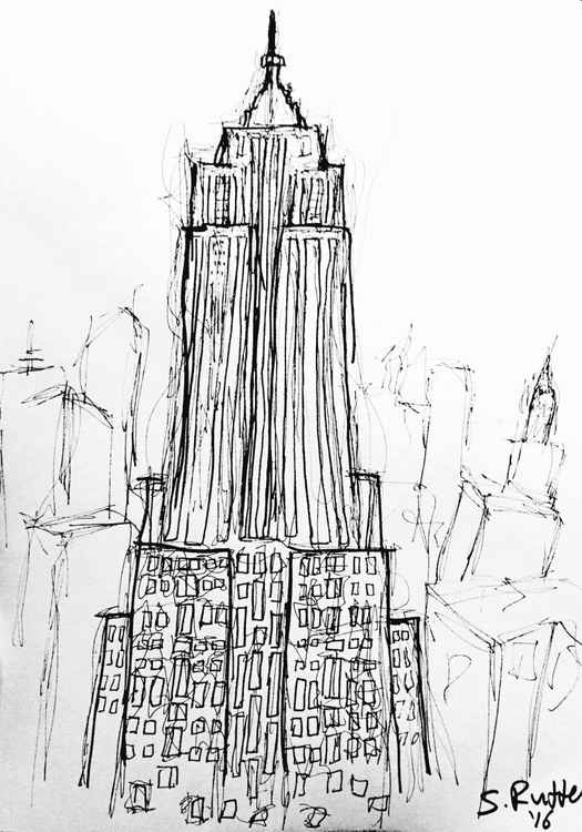 Empire State Sketch