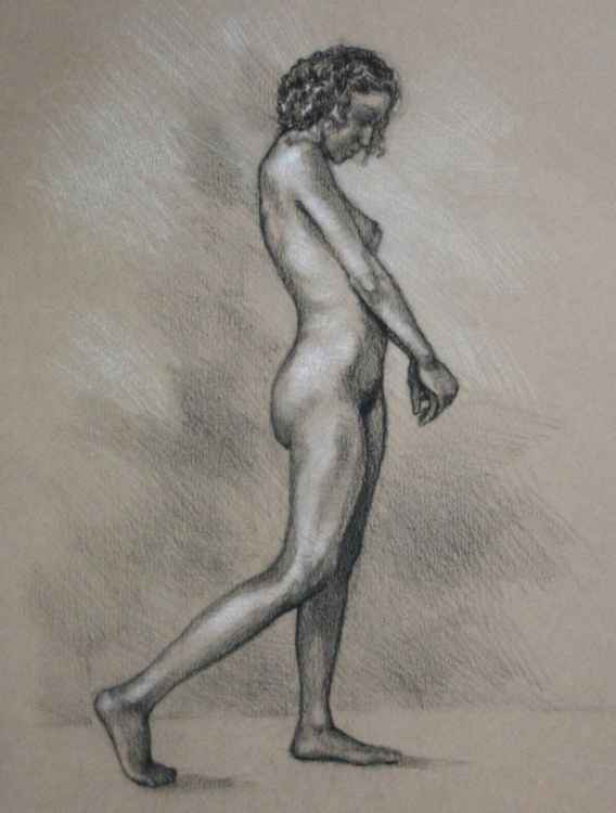 Study of a Nude Woman -