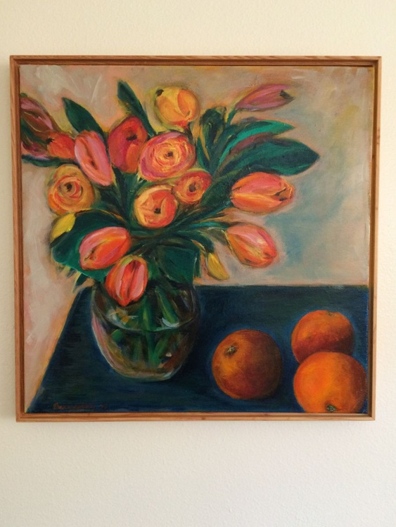 Tulips with Blood Oranges - Image 0