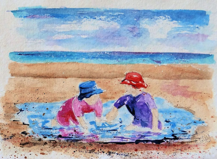 At the beach - Image 0