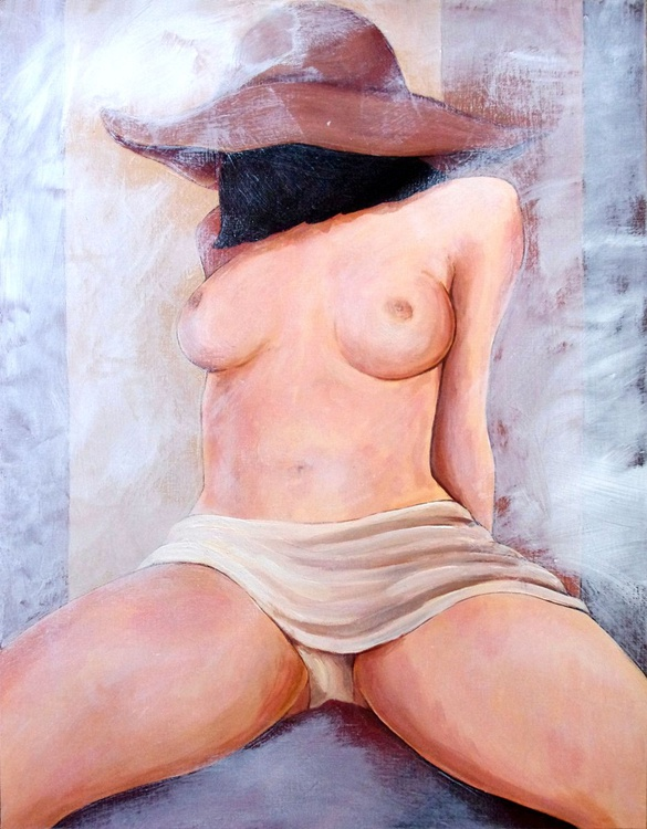 pushy girl - Image 0