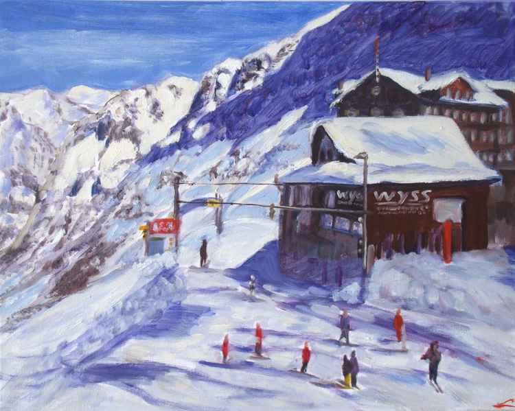 At Kleine Scheidegg -