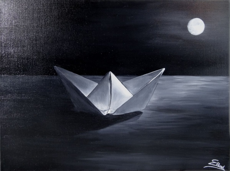 My little paperboat - Image 0